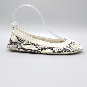 Yosi Samra - Samara snake print ballet flats SZ 6